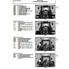 Fendt Farmer 400 Series - Farmer 409 - Farmer 410 - Farmer 411 Workshop Manual Set
