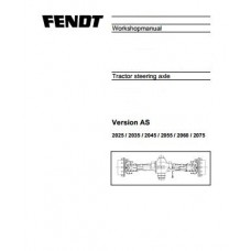 Fendt Favorit 711 - Favorit 712 - Favorit 714 - Favorit 716 ZF Steering Axle Workshop Manual