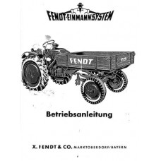 Fendt F225GT - F230GT - F220/1GT Operators Manual