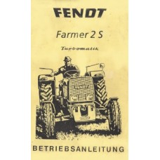 Fendt Farmer 2S Operators Manual