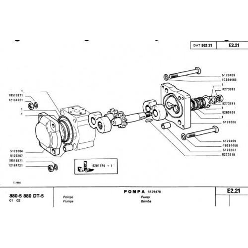 fiat 880 5 880dt 5 parts manual rh tractorboek com fiat 880 specs fiat 880 specs