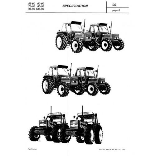 Fiat 55 90 60 90 70 90 80 90 90 90 100 90 Workshop Manual