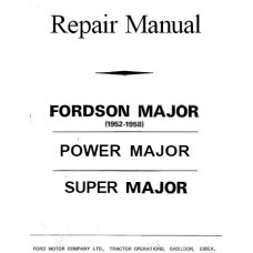 Fordson Major - Super Major - Power Major Workshop Manual