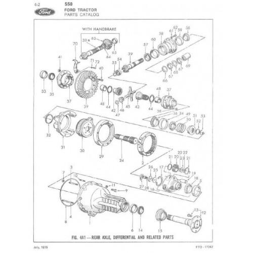 Ford Backhoe Parts List : Ford tractor loader backhoe parts manual
