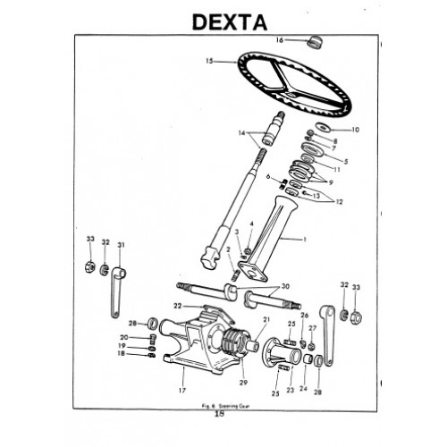 wiring diagram for fordson dexta tractor  diagram  auto