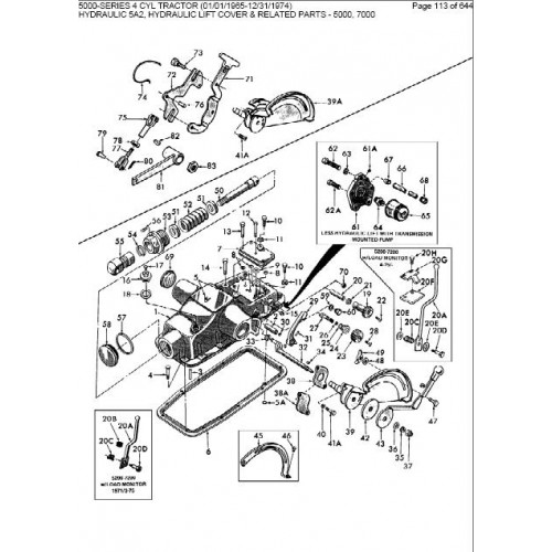 ford 5000 series parts manual