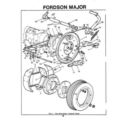 fordson major super major parts manual rh tractorboek com