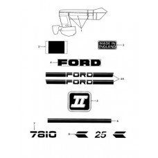 New Holland - Ford 7810 Parts Manual