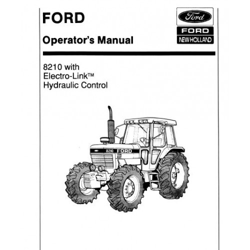 ford 8210 operators manual rh tractorboek com Ford Tractors History Ford Lawn Tractor