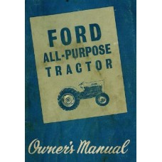Ford series 2000 - 4000 Operators Manual