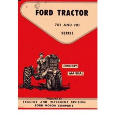Ford 701 - 901 series Operating Manual