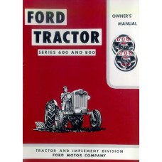 Ford 600 - 800 series Operating Manual