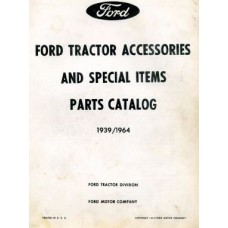 Ford Tractor Accessories and Special Items Parts Catalog