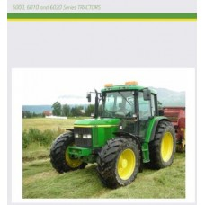John Deere 6000 - 6010 - 6020 Series Maintenance Parts Manual