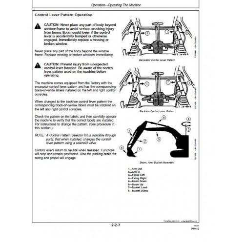 B John Deere Clc C Manual X
