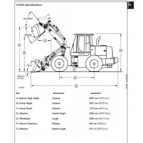 john deere 624h tc62h workshop manual rh tractorboek com John Deere 624H Service Manual John Deere 644D