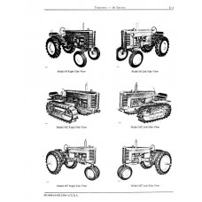 John Deere Model M Series M - MC - MT - MI Parts Manual