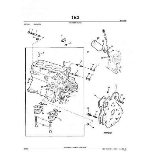 Jd 1020 Pto Illustration : John deere ru hu lu parts manual