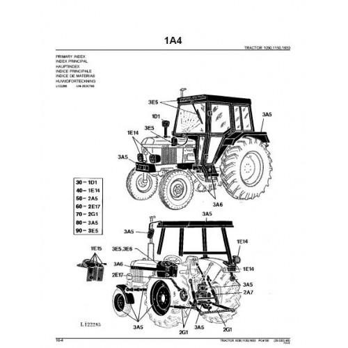 1630  . John Deere Betriebsanleitung Traktor 1030-1130