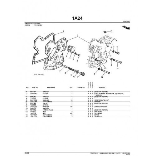 john deere 2040 service manual free download