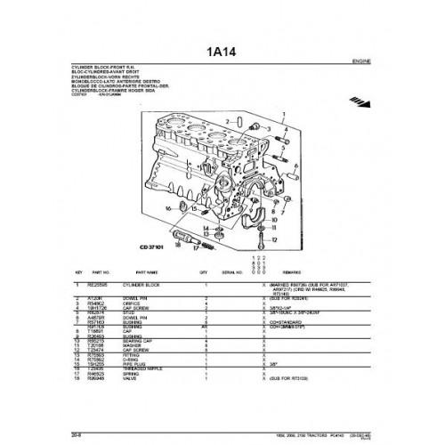 john deere 1830 2030 2130 parts manual rh tractorboek com john deere 2150 manual pdf john deere 2140 manual
