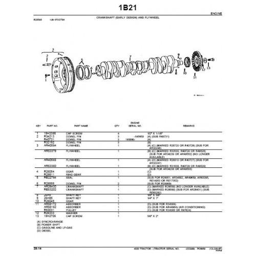 John Deere 4020 Parts Diagram | John Deere 4020 Parts Manual