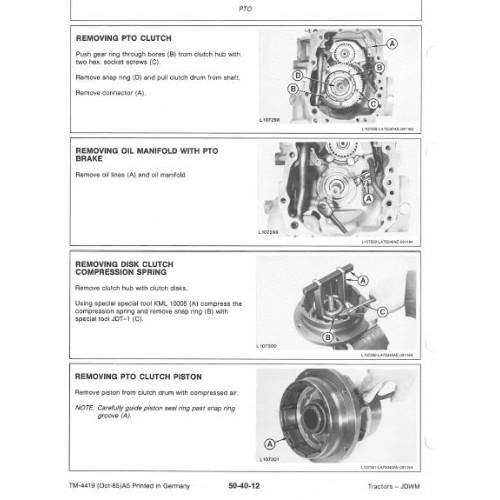john deere 3640 workshop manual rh tractorboek com John Deere 3920 John Deere 4460 Tractor