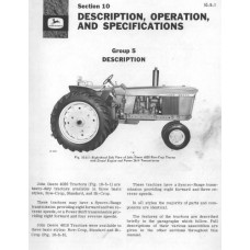 John Deere 4010 - 4020 Workshop Manual