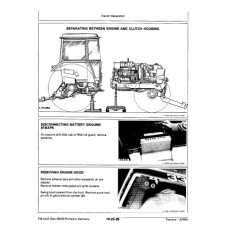John Deere 3050 - 3350 - 3650 Workshop Manual