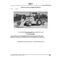 John Deere 210LE Landscape Loader Parts Manual