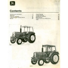 John Deere 3030 - 3130 Operators Manual