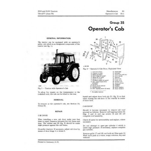 Werkstatthandbuch Reparaturanleitung CD-Rom JOHN DEERE Traktor 3030 3130