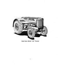 John Deere Model AO Streamlined Parts Manual