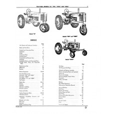 John Deere Model H - HN - HNH - HWH Parts Manual