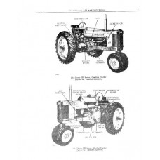 John Deere 520 - 530 Series Parts Manual