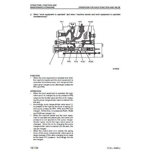 komatsu pc27mr 2 pc30mr 2 pc35mr 2 pc40mr 2 pc50mr 2 rh tractorboek com Komatsu 490 Excavator Digging Komatsu Model 630