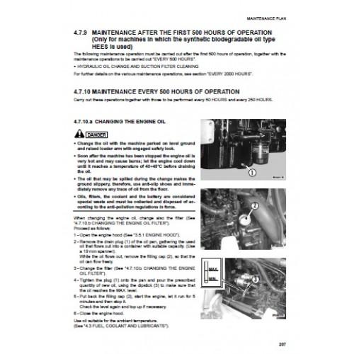 Komatsu WB91R-2 - WB93R-2 Operators Manual