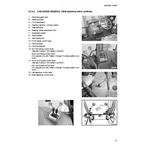 komatsu wb93r 5 operators manual rh tractorboek com
