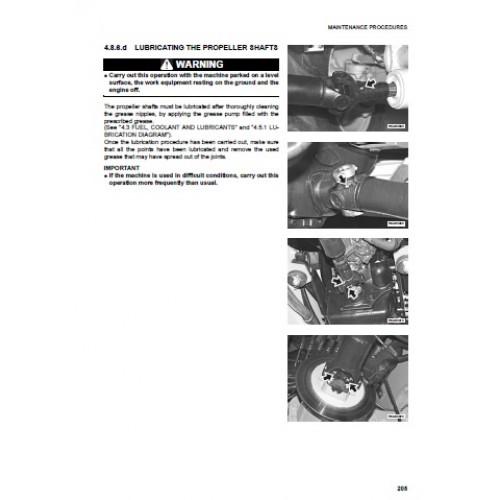 komatsu wb93r 5 operators manual rh tractorboek com komatsu wb93r-2 service manual komatsu wb93r-2 manual