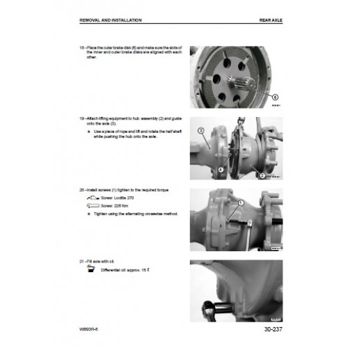 komatsu wb93r 5 workshop manual rh tractorboek com  komatsu wb93r-5 manual