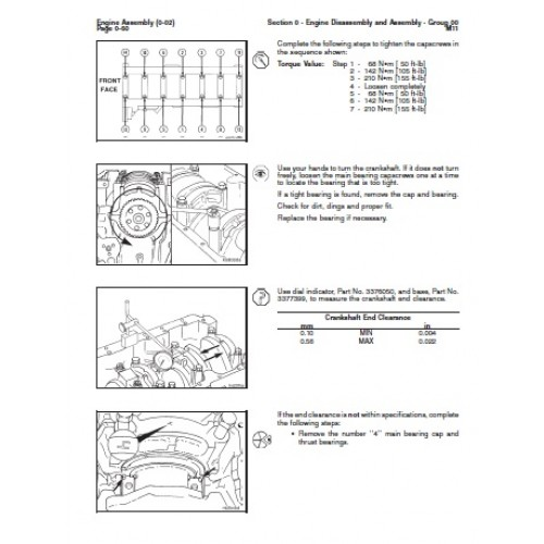 komatsu cummins m11 diesel engine workshop manual rh tractorboek com cummins m11 service manual download cummins m11 service manual pdf