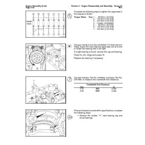 komatsu cummins m11 diesel engine workshop manual rh tractorboek com cummins m11 workshop service manual cummins m11 diesel engine workshop service manual