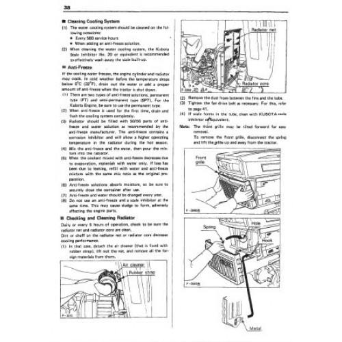 Kubota operators Manual M125x