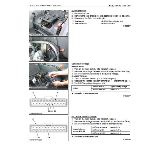 wiring diagram for kubota l3830 l3240 kubota wiring