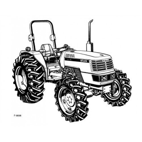 kubota m4700 m5400 operators manual rh tractorboek com Kubota M5400 kubota m4700 repair manual