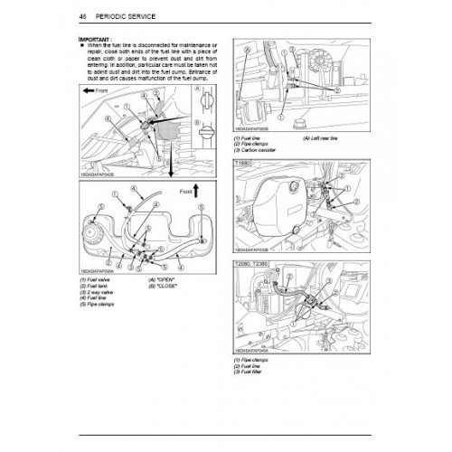 Kubota T1880 - T2080 - T2380 Operators Manual