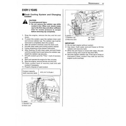 kubota b2710 b2910 b7800 tractor operator manual download