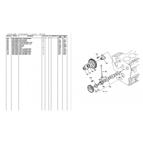 kubota b7400hsd parts manual rh tractorboek com Kubota Parts Kubota Wiring Diagram Online