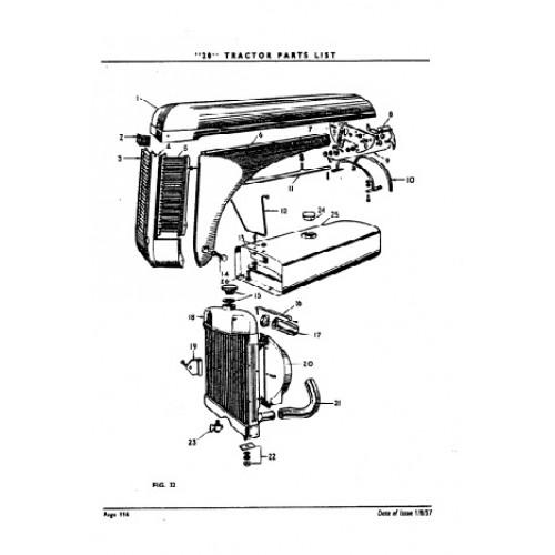 ferguson te20 parts manual