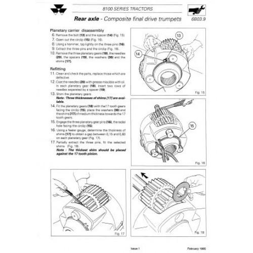 massey ferguson mf 8100 mf 8110 mf 8120 mf 8130 mf 8140 mf rh tractorboek com massey ferguson 8160 service manual Massey Ferguson 8680